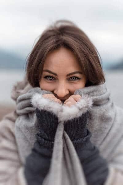 Reparar las manos del frío